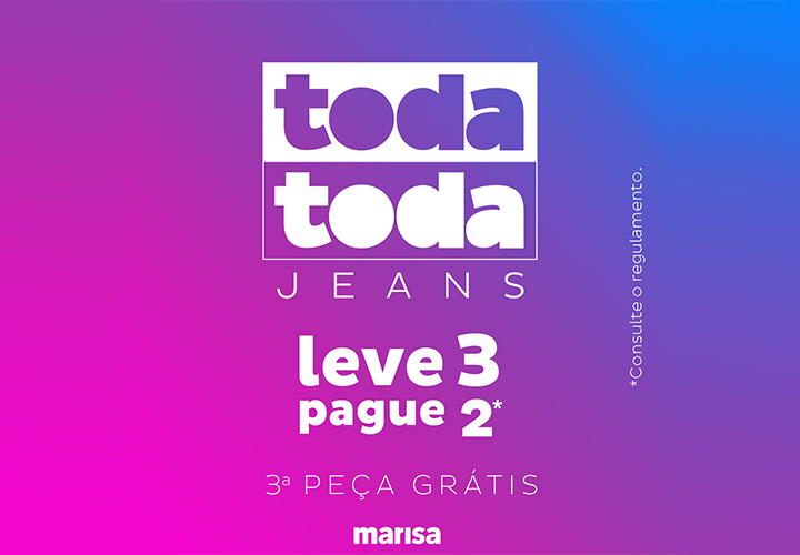 d63142a27 Marisa  Toda Toda Jeans - Shopping Aldeota
